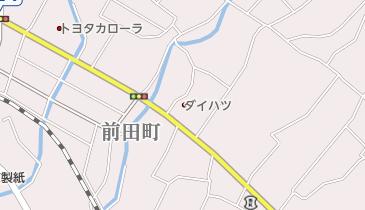 江南市役所の地図画像