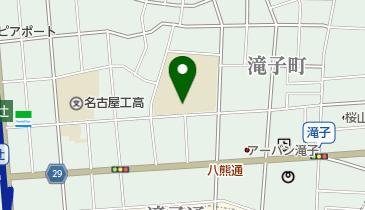 名古屋市立円上中学校の地図画像