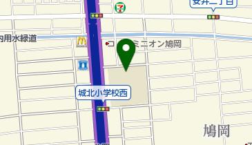 名古屋市立城北小学校の地図画像