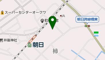 (有)稲垣の地図画像