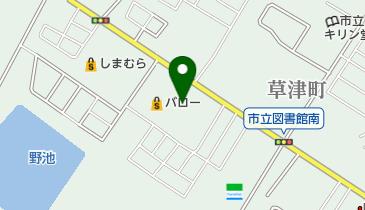 ワンカルビ草津店の地図画像