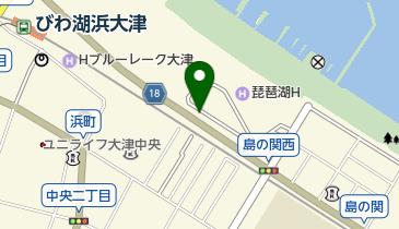 浜大津アーカスの地図画像