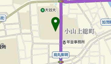 大谷大学博物館の地図画像