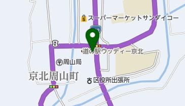 京北夏まつりの地図画像
