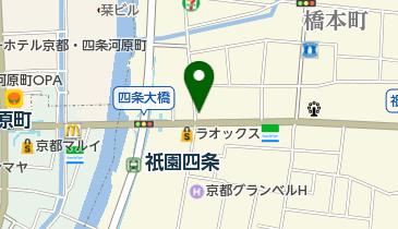 祇園の地図画像
