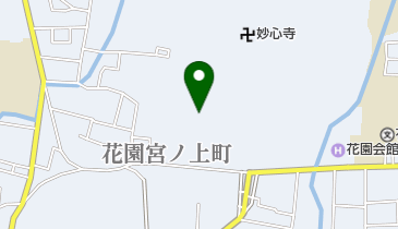 退蔵院庭園の地図画像