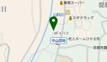 セカンドストリート京都醍醐店の地図画像