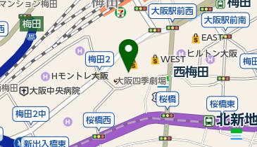 大阪四季劇場の地図画像