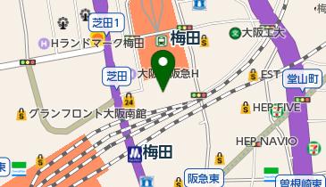 阪急17番街の地図画像