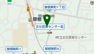 VEGA曽根ボウルの地図画像