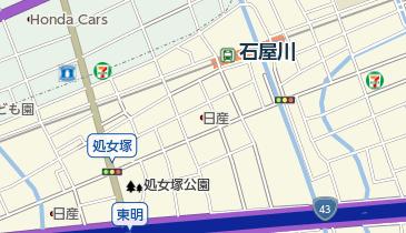 ワンカルビ今津店の地図画像