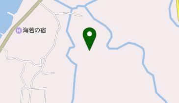 奥野荘の地図画像