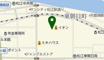 イオン松江店の地図画像