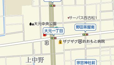 和文字焼きまつりの地図画像