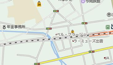 岡山さくらカーニバルの地図画像