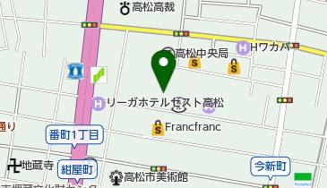 高松丸亀町壱番街西館の地図画像