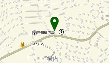 味千拉麺高知横内店の地図画像