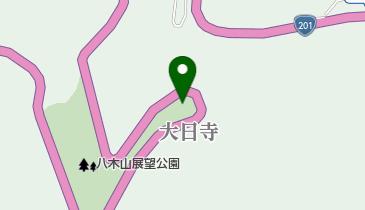 八木山展望公園の地図画像