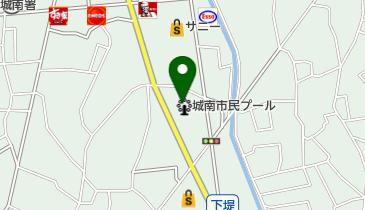 城南市民プールの地図画像