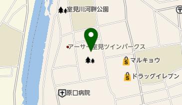 小田部中央公園の地図画像
