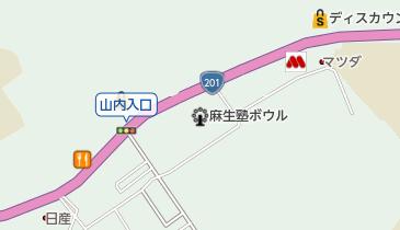 永興寺の地図画像