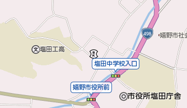 乳待坊公園いこいの広場キャンプ場の地図画像