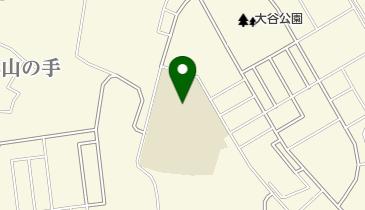 大分市立明野西小学校の地図画像