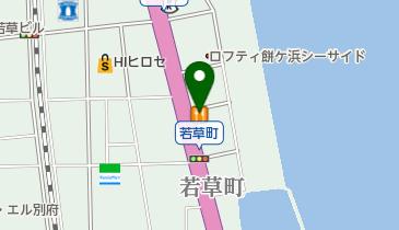 リンガーハット大分別府店の地図画像