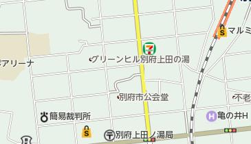 串間市消防本部の地図画像