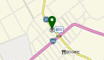 砂川簡易郵便局の地図画像