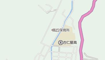 乙羽岳森林公園キャンプ場の地図画像