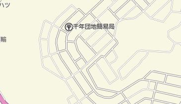 国指定史跡中城城跡の地図画像