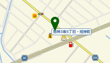 回転寿しトリトン旭神店の地図画像