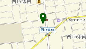 風月帯広店の地図画像