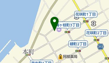 スナックありすの地図画像