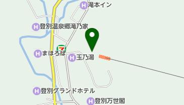 のぼりべつクマ牧場の地図画像