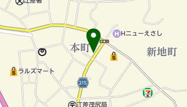 スタッフの地図画像