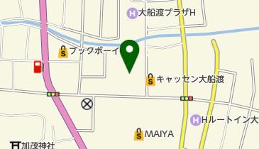 青い麦の地図画像