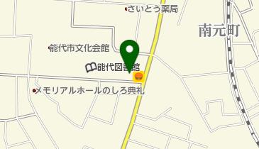 ピザ・カリフォルニア能代店の地図画像