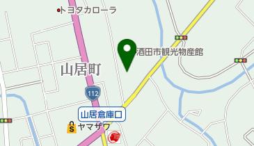 有限会社木川屋 山居倉庫店の地図画像