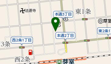 スナック藍の地図画像
