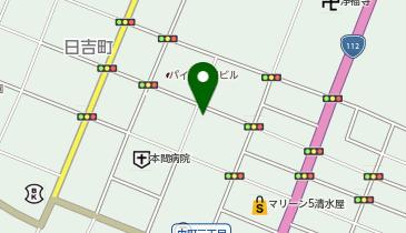 韓国BARカンナムの地図画像