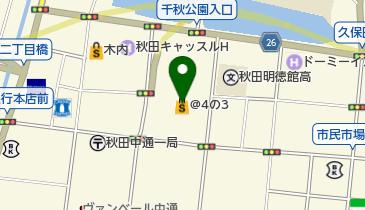光琳 なかいち店の地図画像
