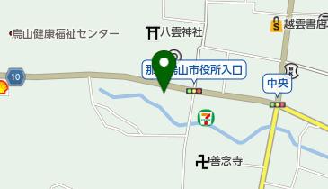 烏山観光タクシーの地図画像