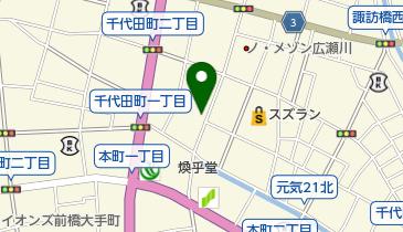 黒田玩具人形店の地図画像