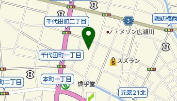 足利屋の地図画像