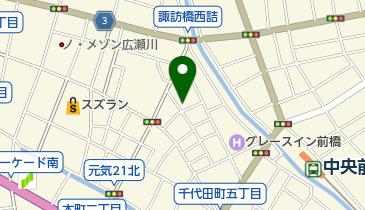 きくや楽器店の地図画像