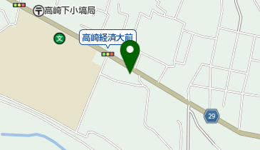 榛名観光タクシーの地図画像
