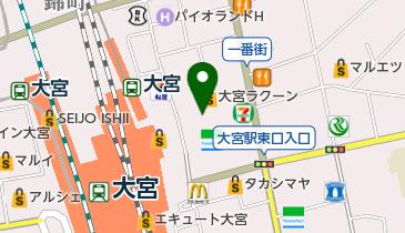 駅前チケットセンターの地図画像