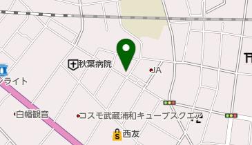 浦和鍼灸院の地図画像